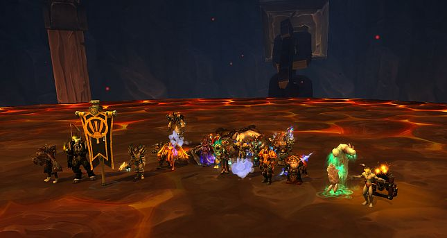 Heroic Team's Blackhand Kill