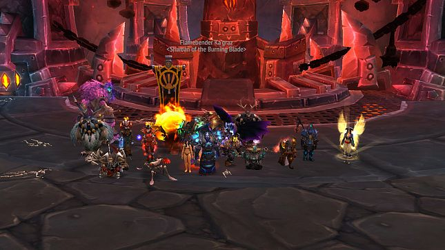 AM Team kills Mythic Flamebender